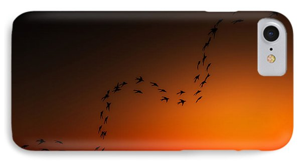 IPhone Case featuring the digital art A Ribbon Of Life... by Tim Fillingim