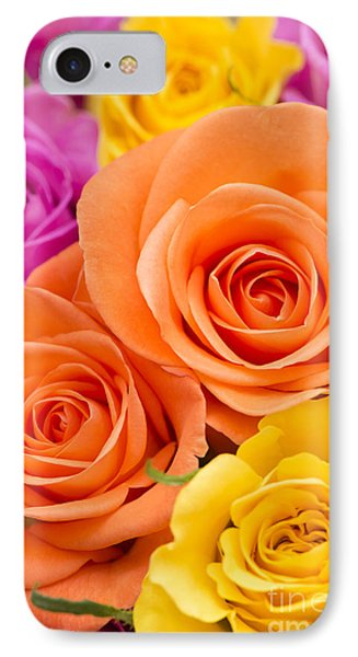 A Riot Of Roses Phone Case by Anne Gilbert