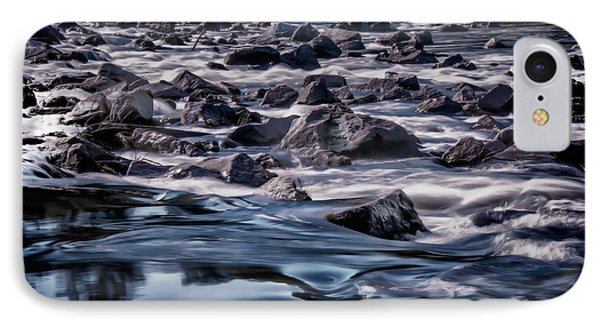 A River Called Iller IPhone Case by Patrick Boening