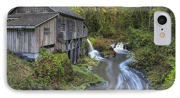 A River Flows Through It Phone Case by David Gn
