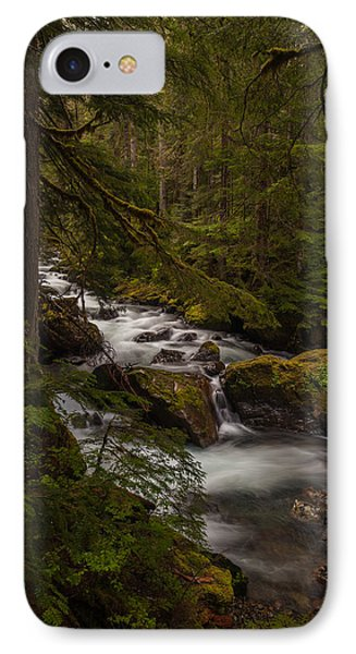 A River Passes Through Phone Case by Mike Reid