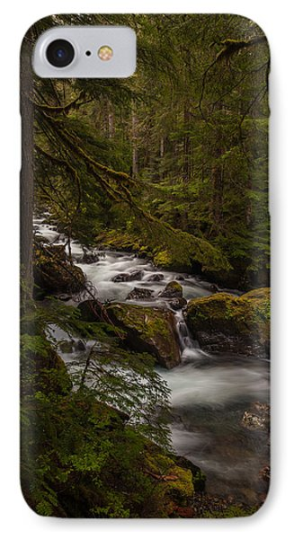 A River Passes Through IPhone Case by Mike Reid