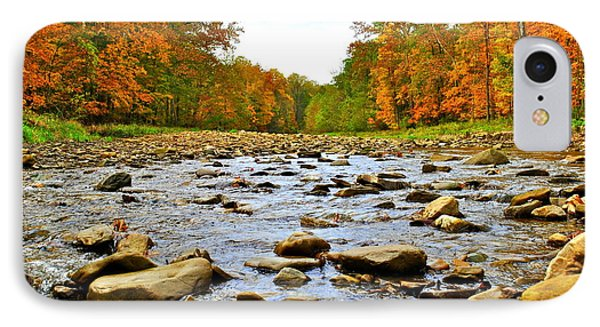 A River Runs Through It Phone Case by Frozen in Time Fine Art Photography