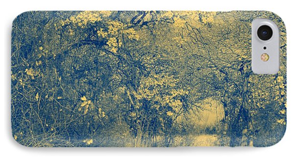 A Road Framed With Trees Phone Case by Mickey Harkins