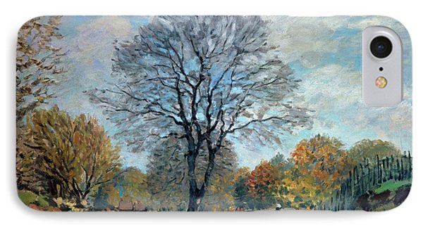 A Road In Seine-et-marne, 1878 IPhone Case