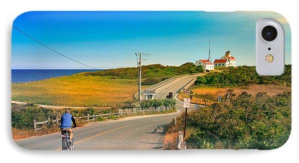 A Road To Coast Guard Beach Eastham Cape Cod Phone Case by Dapixara Art