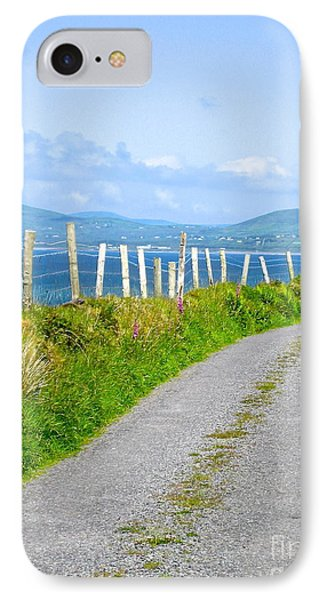 IPhone Case featuring the photograph A Road To Waterville by Suzanne Oesterling