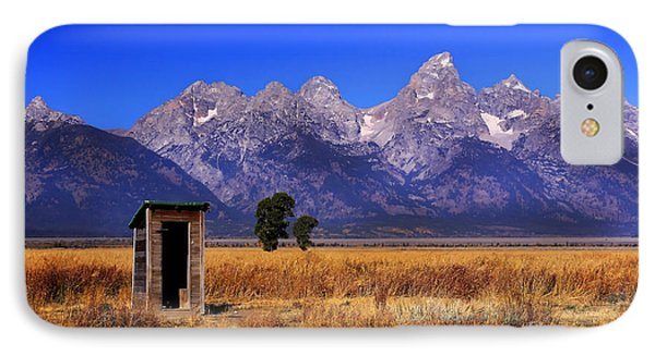 A Room With Quite A View IPhone Case