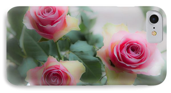 A Rose And A Rose And A Rose IPhone Case