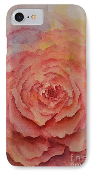 A Rose Beauty IPhone Case by Kathleen Pio