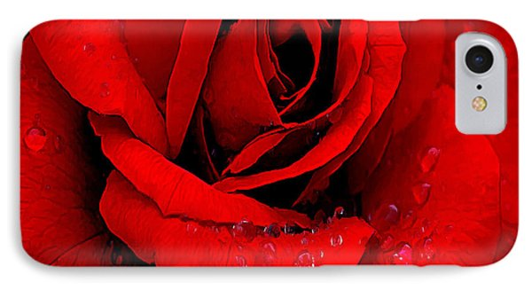 A Rose For A Sweetheart Phone Case by Bob and Nadine Johnston