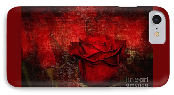 A Rose For You IPhone Case by Kaye Menner