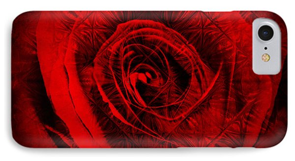 A Rose IPhone Case by Kylie Sabra