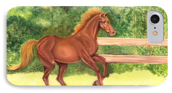 A Running Horse IPhone Case