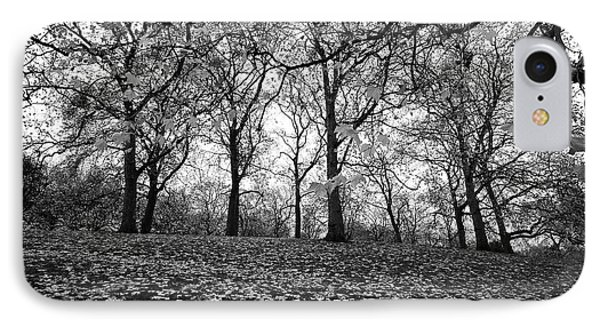 IPhone Case featuring the photograph A Scene In The Park by Marwan Khoury