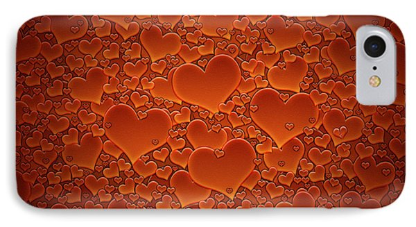 A Sea Of Hearts IPhone Case by Gianfranco Weiss