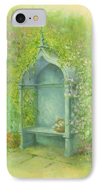 A Seat In The Garden Phone Case by Garry Walton