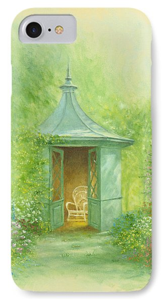 A Seat In The Summerhouse Phone Case by Garry Walton