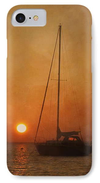 A Ship In The Night Phone Case by Kim Hojnacki