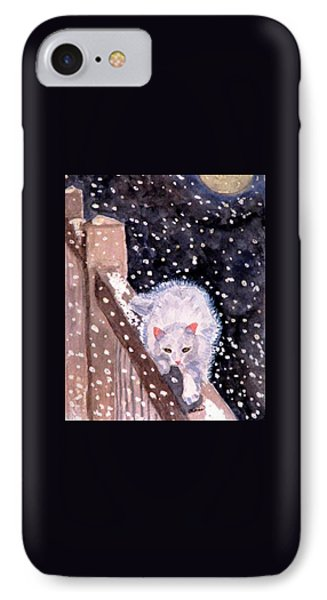 IPhone Case featuring the painting A Silent Journey by Angela Davies