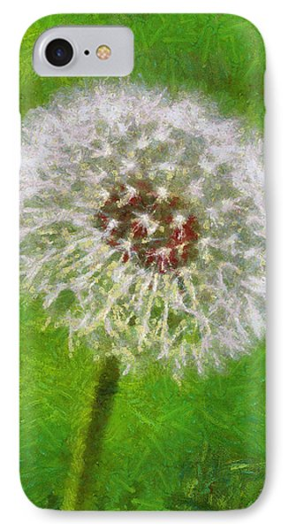 IPhone Case featuring the painting A Simple Beauty by Joe Misrasi