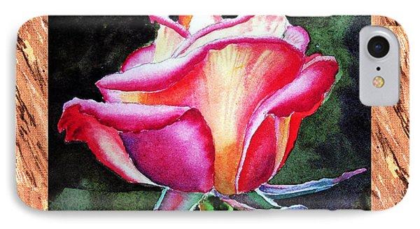A Single Rose The Silky Light IPhone Case by Irina Sztukowski