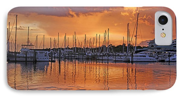 A Sky Full Of Wonder - Florida Sunset IPhone Case by HH Photography of Florida