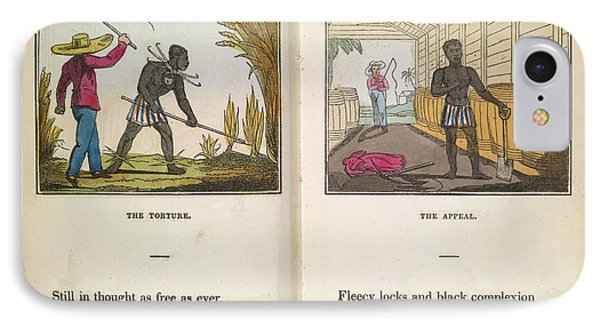 A Slave Being Flogged IPhone Case by British Library