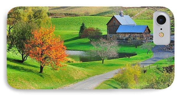 Sleepy Hollow Autumn - Pomfret Vermont IPhone Case