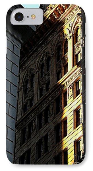 A Sliver Of Light In Manhattan Phone Case by James Aiken