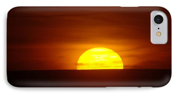 A Slow Sunset Phone Case by Jeff Swan