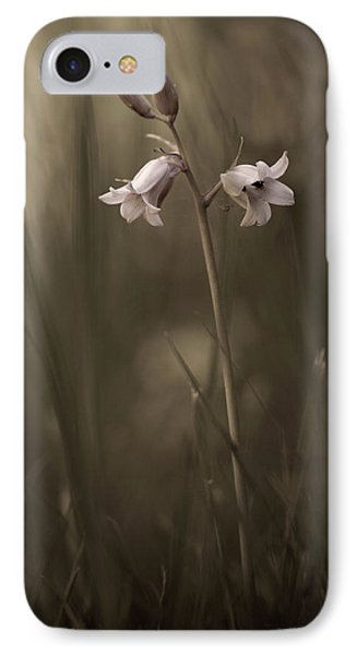 A Small Flower On The Ground IPhone Case