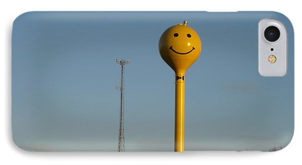 A Smile At The Crossroads. IPhone Case