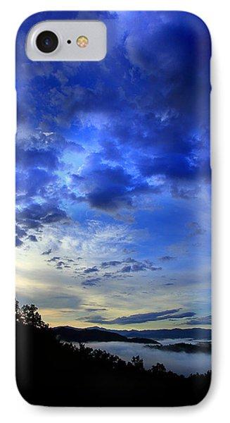 A Smoky Mountain Dawn Phone Case by Michael Eingle