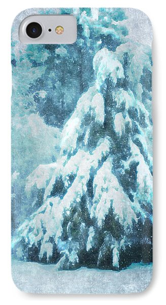 A Snow Tree IPhone Case by ARTography by Pamela Smale Williams