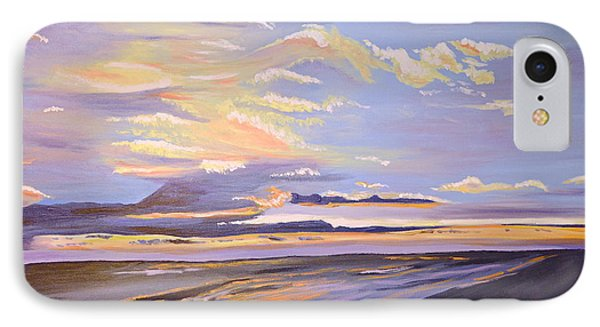 A South Facing Shore IPhone Case by Donna Blossom