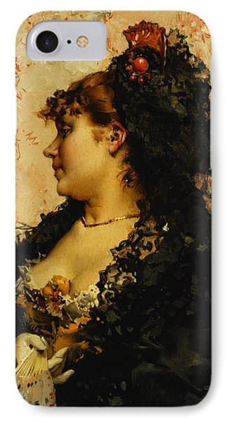 A Spanish Beauty IPhone Case