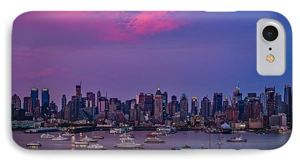 A Spectacular New York City Evening Phone Case by Susan Candelario