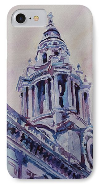 A Spire Of Saint Paul's IPhone Case by Jenny Armitage