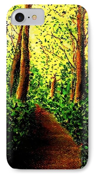 IPhone Case featuring the painting A Spiritual Awakening by Hazel Holland