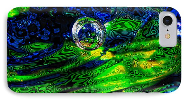 A Splash Of Seahawks IPhone Case by David Patterson