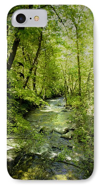 A Spring Day At Lithia Creek Phone Case by Diane Schuster