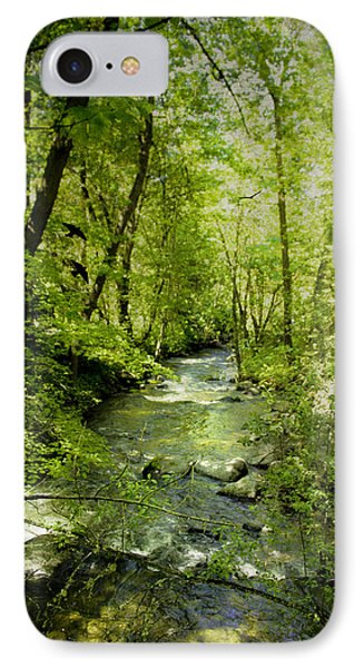 A Spring Day At Lithia Creek IPhone Case by Diane Schuster