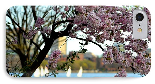 A Spring Day On The Charles River IPhone Case by Toby McGuire