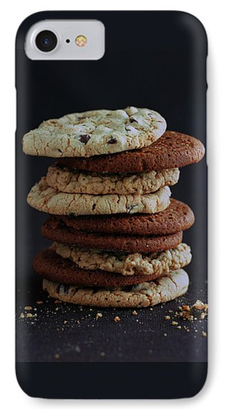 A Stack Of Cookies IPhone Case by Romulo Yanes