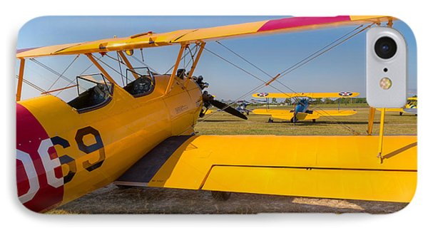 A Stearman Framed IPhone Case by Tim Stanley