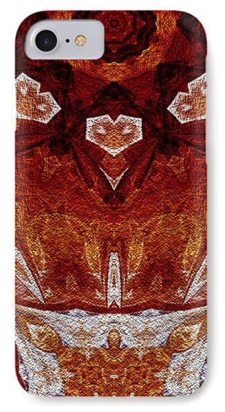 IPhone Case featuring the digital art A Stiring Of Secrets by Owlspook