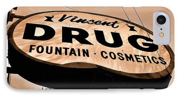 A Store For Everyone - Vintage Pharmacy Sign IPhone Case
