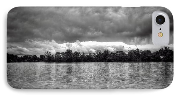 A Storm Rolls By Phone Case by Thomas Young