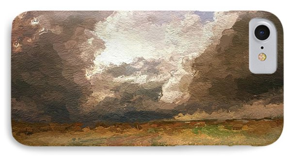 A Stormy Day IPhone Case by Steve K